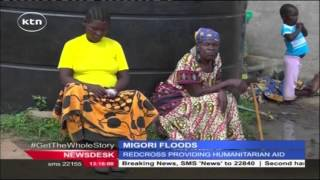More than 400 families displaced from their homes by floods in Migori County
