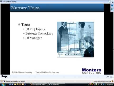 The Art of Virtual Leadership Part 2 Demo (Managing Virtual Teams) On-demand Webinar