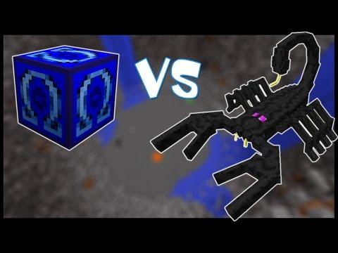 Омега Лаки Блок VS Скорпион-Великан! - Лаки Битва #9 (видео)