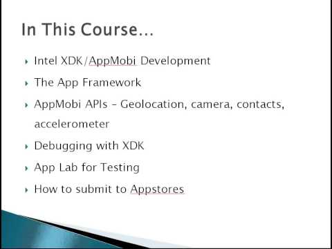 Learn to Build Mobile Apps from Scratch - Chapter 2    Quick Intro   Eduonix