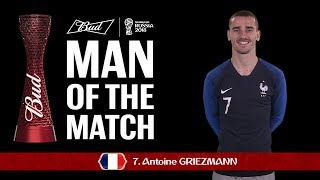 Wawancara Antoine Griezmann Setelah Kemenangan Prancis