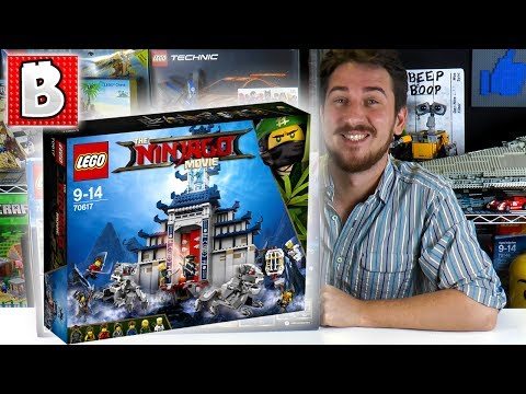 LEGO Ninjago Movie Temple of The Ultimate Ultimate Weapon 70617!!! | BrickVault LIVE Build Review