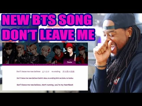 BTS 'Don't Leave Me'  Face Yourself [PREVIEW] REACTION!!! COLOR CODED LYRICS!