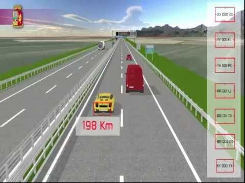 tutor - Il sistema di rilevamento della velocità TUTOR.