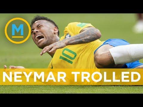 Brazil's Neymar getting trolle …
