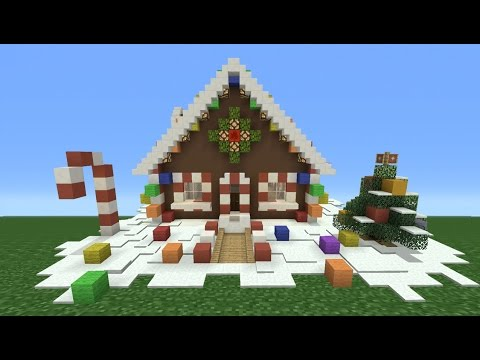Minecraft Tutorial: How To Make A Ginger Bread House