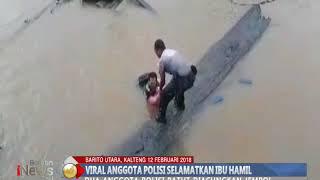 Video [Viral] Video Aksi Heroik, Polisi Selamatkan Ibu Hamil Tercebur Sungai Barito - BIP 13/02 MP3, 3GP, MP4, WEBM, AVI, FLV April 2018