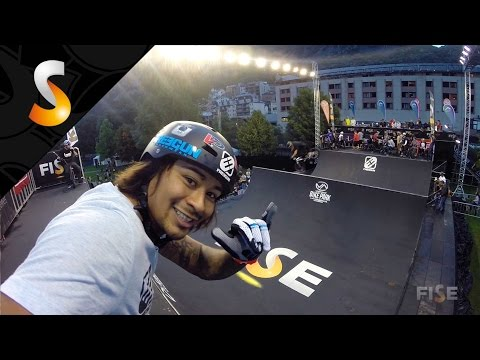 Highlight Freegun Air Spine - FISE World Andorra 2014