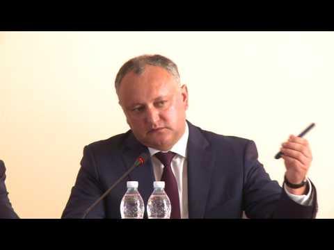 Președintele Igor Dodon efectuează o vizită de lucru în raionul Cahul