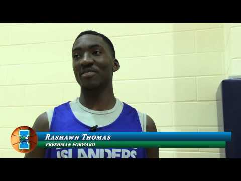 Islanders Update - Men's Basketball Opens Preseason Practice - 9-28-13