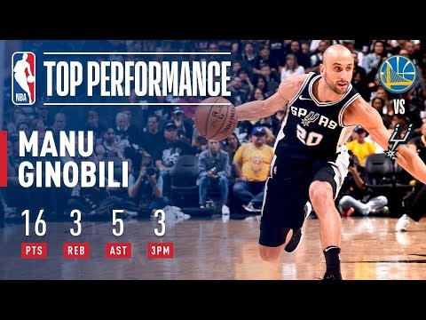 Manu Ginobili Keeps San Antonio's Season Alive as Spurs Win Game 4