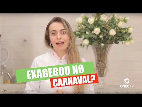 Dicas nutricionais pós Carnaval