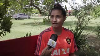 Micaelly: Promessa do futebol feminino do Sport