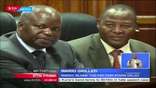 Sports CS Hassan Wario grilled by senate committee over mismanagement of Harambee Stars