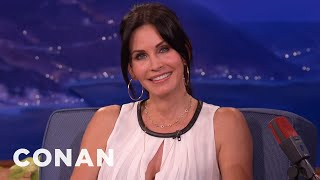 Courteney Cox Mistook Jack Black For Zach Galifianakis
