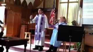 Pastor Dan Preaching