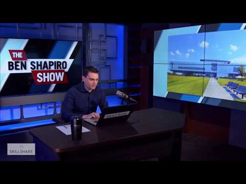 Ben Shapiro Hilariously Reacts to Obama Library