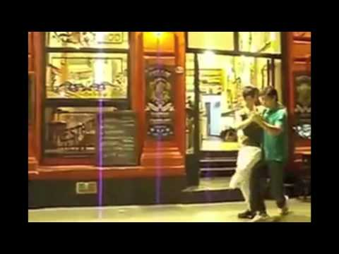 Two Guys Dancing El Tango De Roxanne Re Dubbed