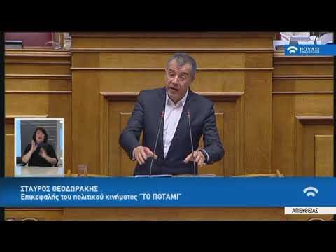 Σ.Θεοδωράκης (Επικεφαλής ΠΟΤΑΜΙ)(Μεταρρυθμίσεις προγράμματος οικονομικής προσαρμογής)(15/01/2018)