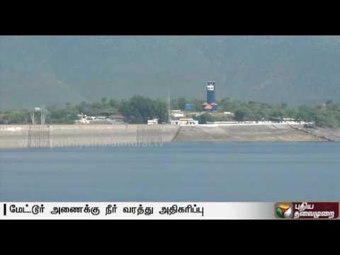 Water-level-in-Mettur-Dam-increases-due-to-incessant-rain