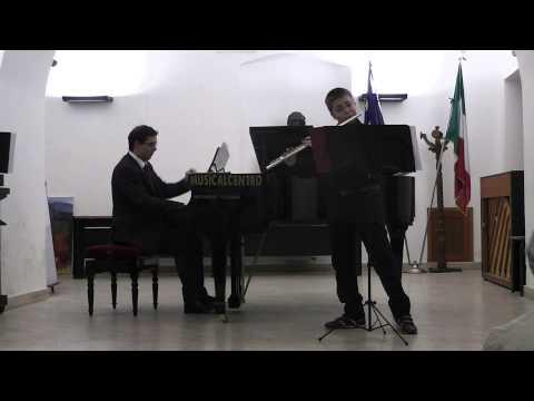 Riccardo Cellacchi - J. Mouquet La Flûte de Pan - 1° mov. \
