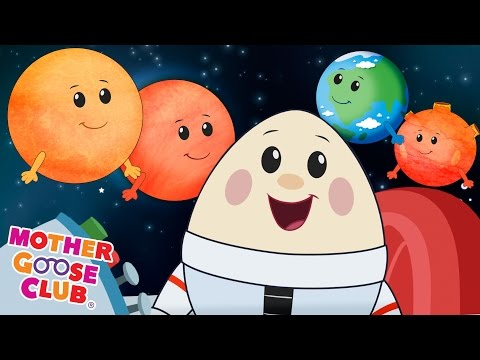 Eight Planets | Featuring Humpty Dumpty | Mother Goose Club Kid Songs and Nursery Rhymes (видео)