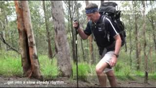 Training for uphill and downhill trekking
