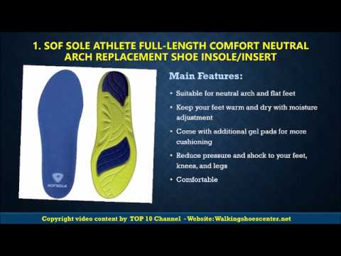 Best Insole Standing All Day 2017    Best Insole for Shoes Reviews