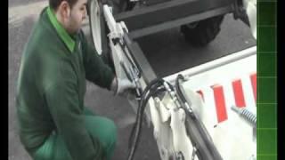 Cambio de Barredora a Dumper - Converting a sweeper into a self-loading dumper