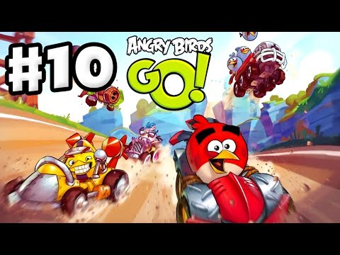 angry - Thanks for every Like and Favorite! They really help! Angry Birds Go Gameplay Part 10 contains some 3 star completions and Angry Birds hints for the Rocky Ro...
