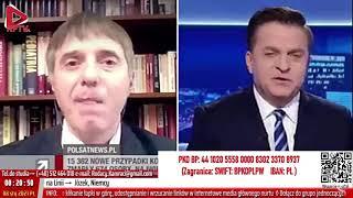 """Dr Basiukiewicz miażdży w Polsacie politykę testowania oraz izolowania osób """"zakażonych"""""""