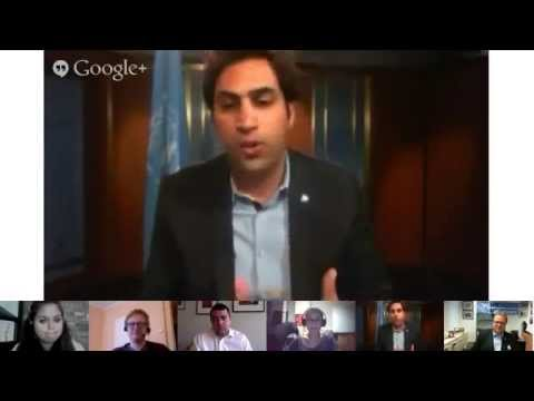 un - United Nations, New York, 17 May 2013 - The Google+ Hangout was held with the participation of Executive Coordinator of United Nations Volunteers (UNV) Mr Ri...