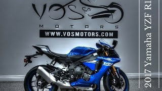 8. The Brand New 2017 Yamaha YZF R1 Walkaroud Video
