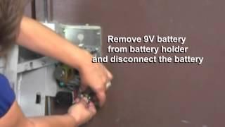 Detex ECL-230D Battery Change thumbnail