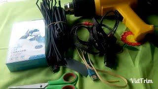 Video Bikin charger hp di motor modal 5 ribu, cocok buat ojek online MP3, 3GP, MP4, WEBM, AVI, FLV September 2018