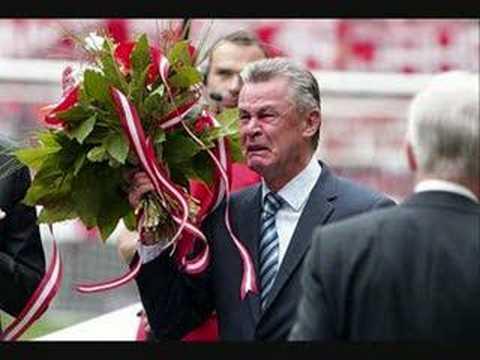 Despedida a Ottmar Hitzfeld del Bayern Munich