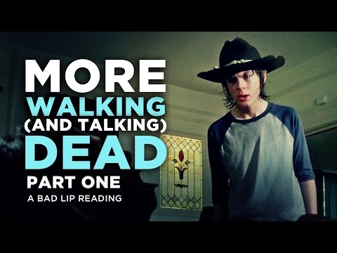 """MORE WALKING (AND TALKING) DEAD: PART 1"" – A Bad Lip Reading of The Walking Dead Season 4"