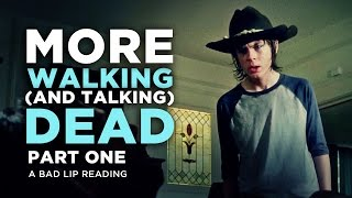 """MORE WALKING (AND TALKING) DEAD: PART 1"" - A Bad Lip Reading of The Walking Dead Season 4 - YouTube"