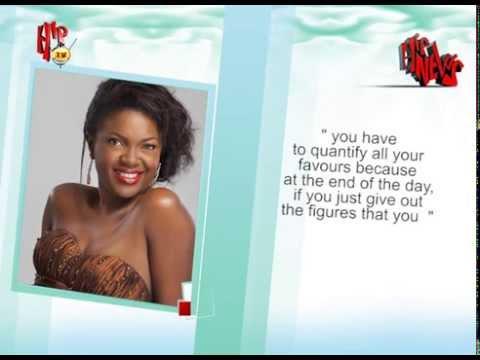 HIPTV NEWS - OMONI OBOLI REVEALS COST OF MAKING 'BEING MRS ELLIOT' (Nigerian Entertainment News)