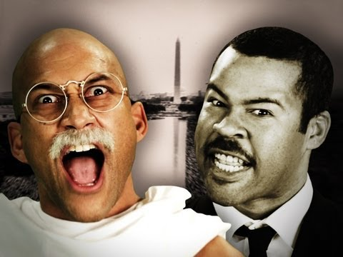 Gandhi vs Martin Luther King Jr. Epic Rap Battles of History Season 2 (видео)