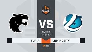 FURIA vs Luminosity, map 3 train, ECS Season 7 North America