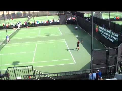Tommy Paul vs. Bogdan Borza – 50th Junior Orange Bowl International Tennis Championship