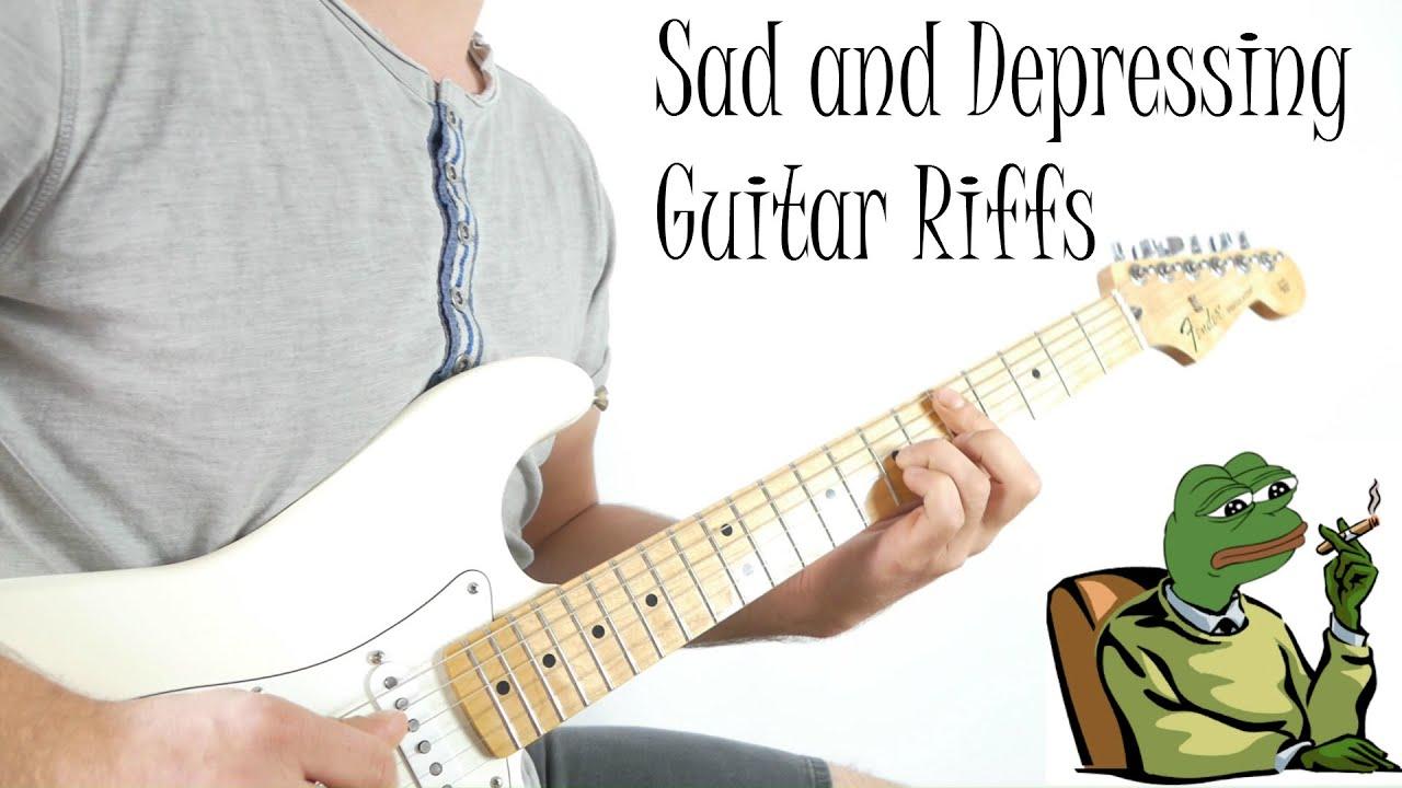 Top 10 Sad and Depressing Guitar Riffs
