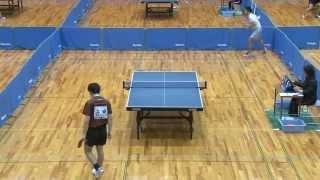 世界卓球2015蘇州 男子日本代表選手選考会 1日目