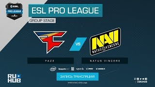 FaZe vs Na`Vi - ESL Pro League S7 Finals - map2 - de_nuke [ceh9, CrystalMay]