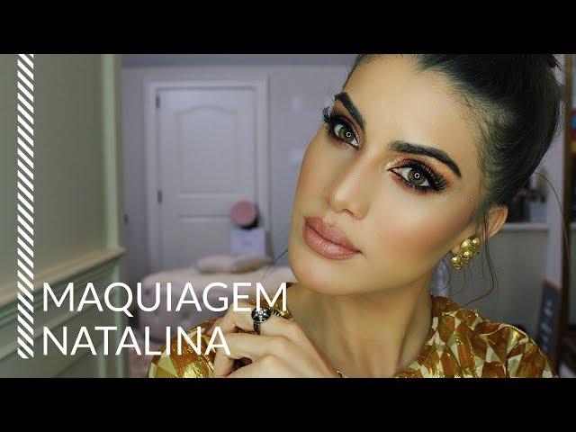 MAQUIAGEM PRO NATAL 2017 - Super Vaidosa
