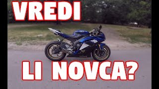 4. Yamaha R6 (2008) - First Ride - Review