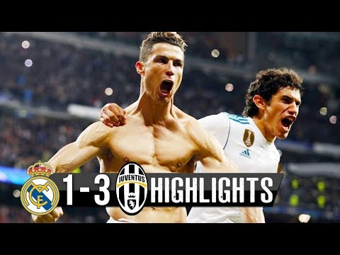 Real Madrid vs Juventus 1-3 - All Goals & Extended Highlights  UCL 11/04/2018 HD
