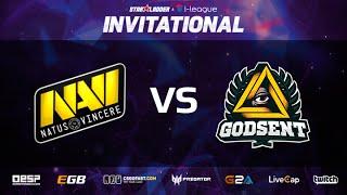 GODSENT vs Na'Vi, game 2