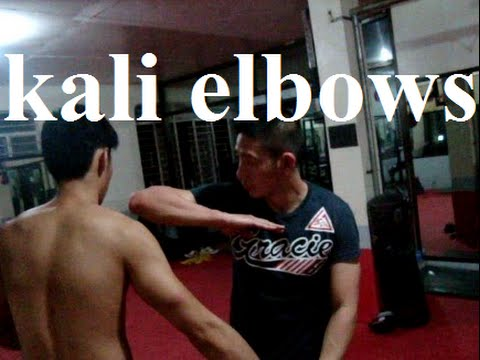 KALI ELBOW TECHNIQUES BASED ON THE BLADE ( Kali Empty Hands )